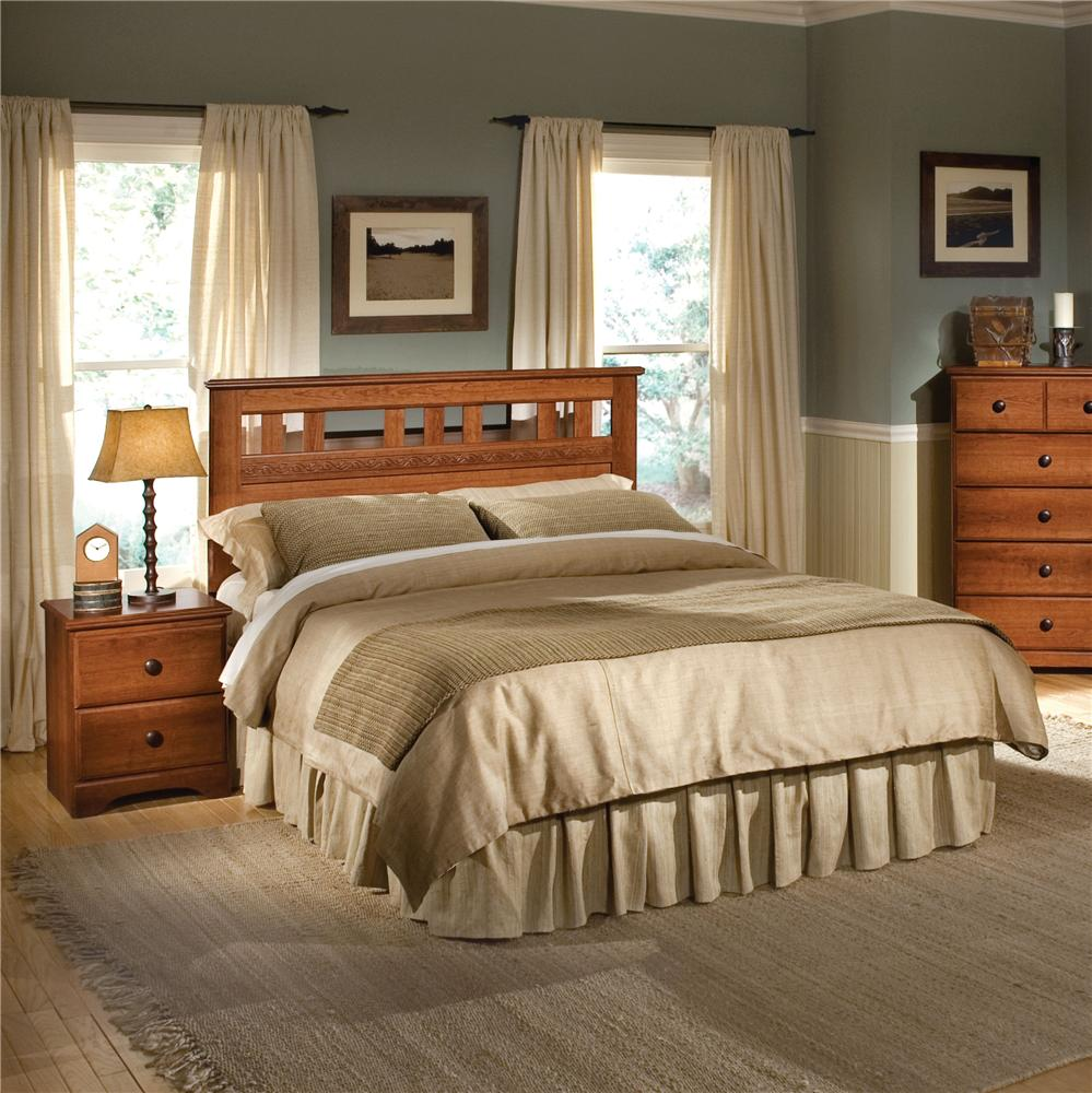 Standard Furniture Orchard Park Twin Panel Headboard - Item Number: 58703
