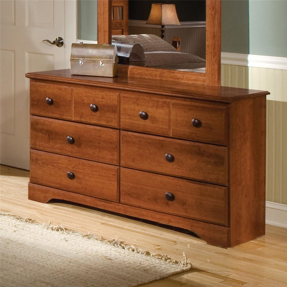 Standard Furniture Orchard Park 6-Drawer Dresser - Item Number: 58709
