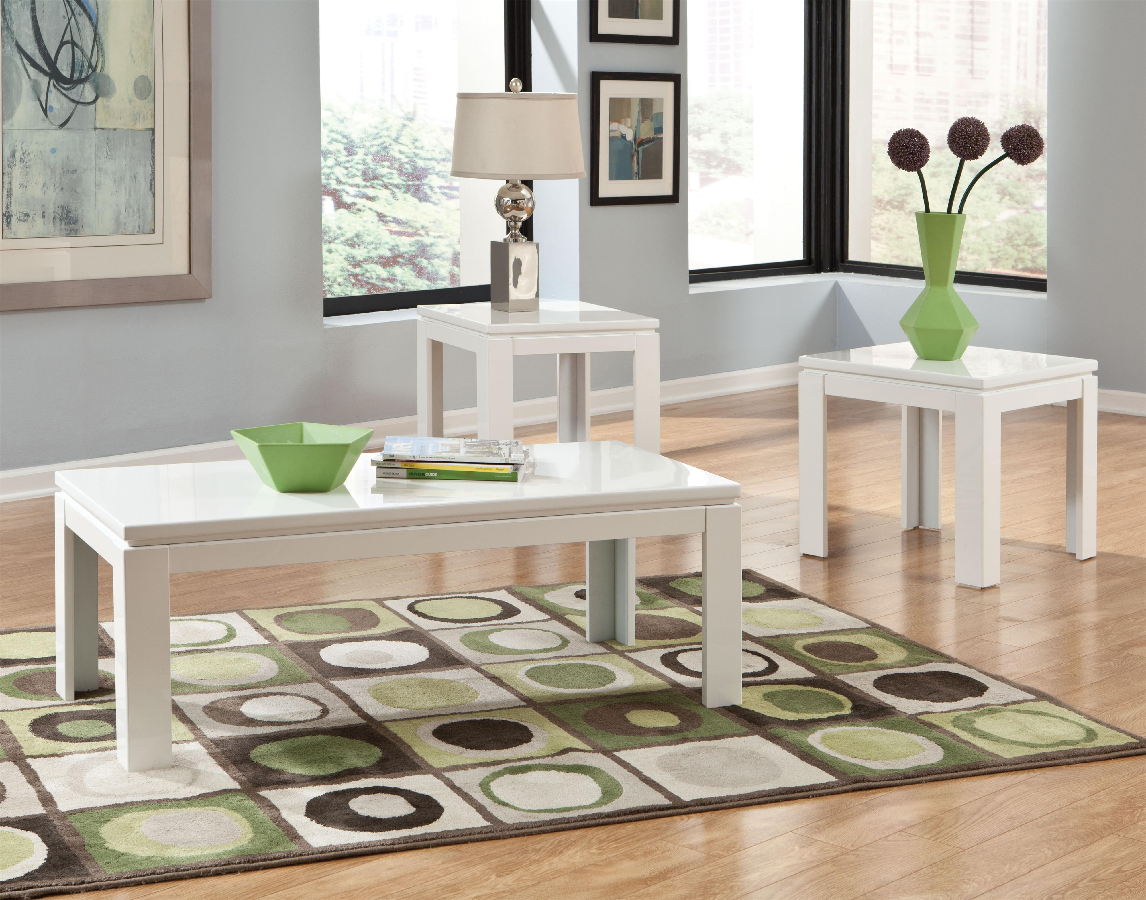 Standard Furniture Outlook 3-Pack Occasional Tables - Item Number: 22133