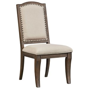 Standard Furniture Parliament Upholstered Side Chair