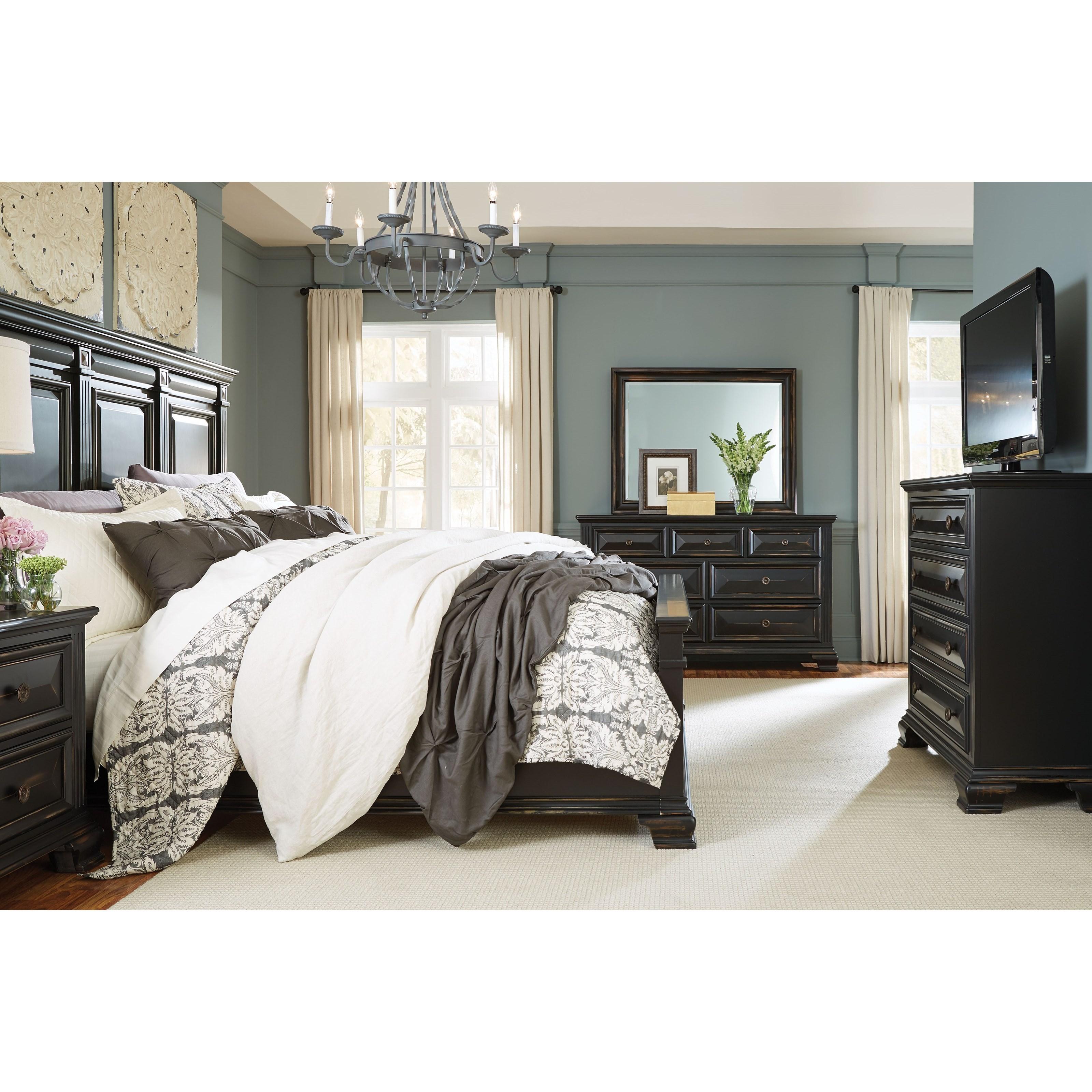 VFM Signature Passages King Bedroom Group - Item Number: 86900 K Bedroom Group 1