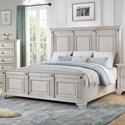 Standard Furniture Passages Light Queen Panel Bed - Item Number: 87901+02+03