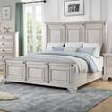 Standard Furniture Passages Light King Panel Bed - Item Number: 87911+02+13