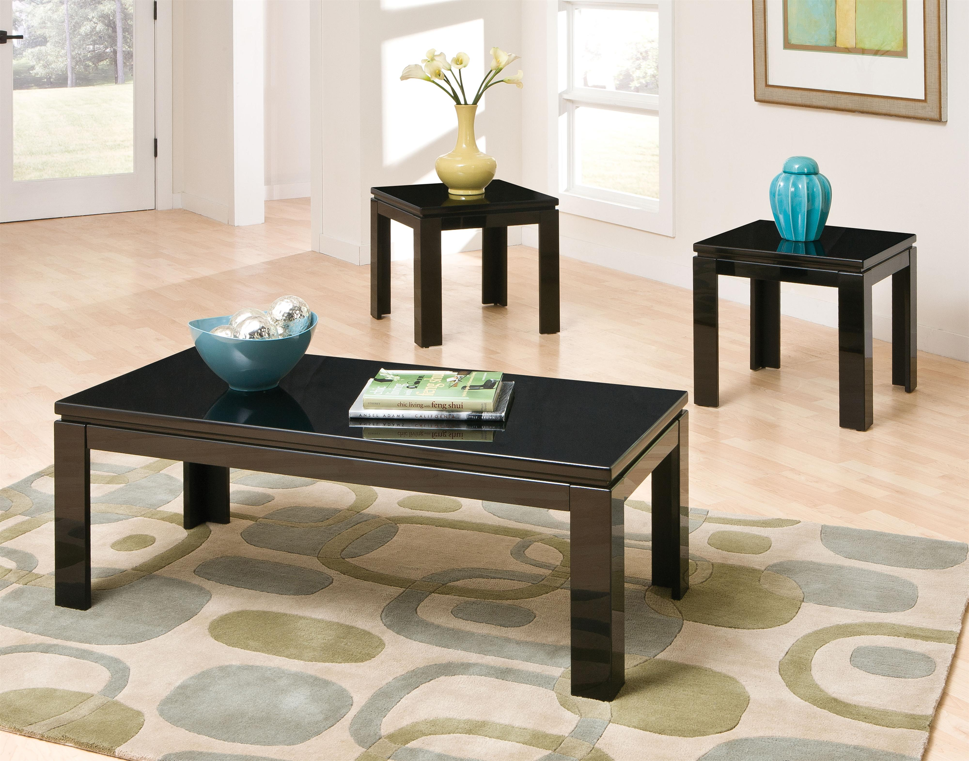 Standard Furniture Passport 3-Pack Occasional Tables - Item Number: 22123