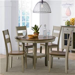 Standard Furniture Pendleton Sage Casual Kitchen Table and Chair Set