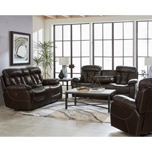 Standard Furniture Peoria Reclining Living Room Group