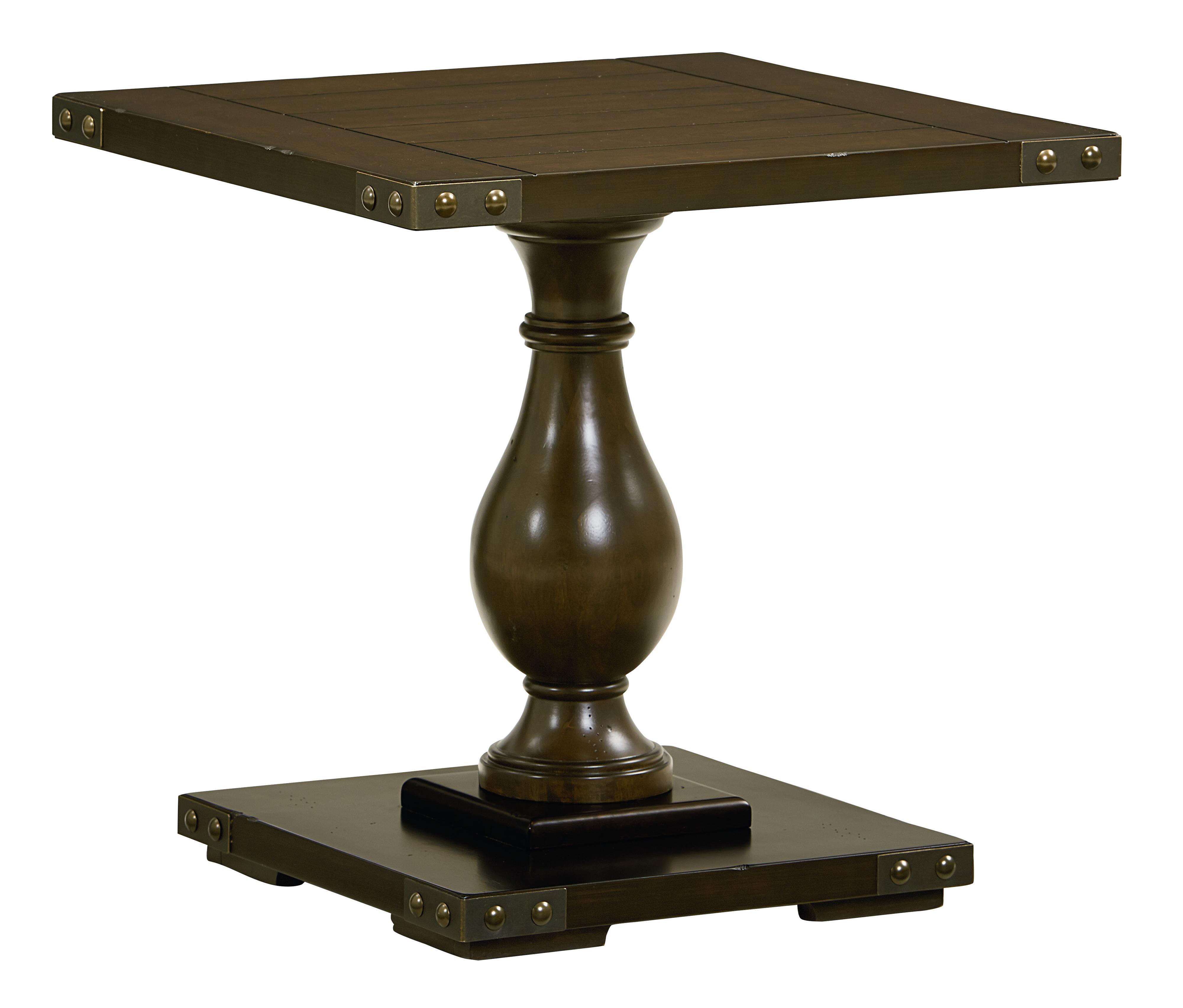 Standard Furniture Pierwood End Table - Item Number: 29252