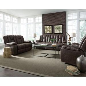 Standard Furniture Rainier Reclining Living Room Group
