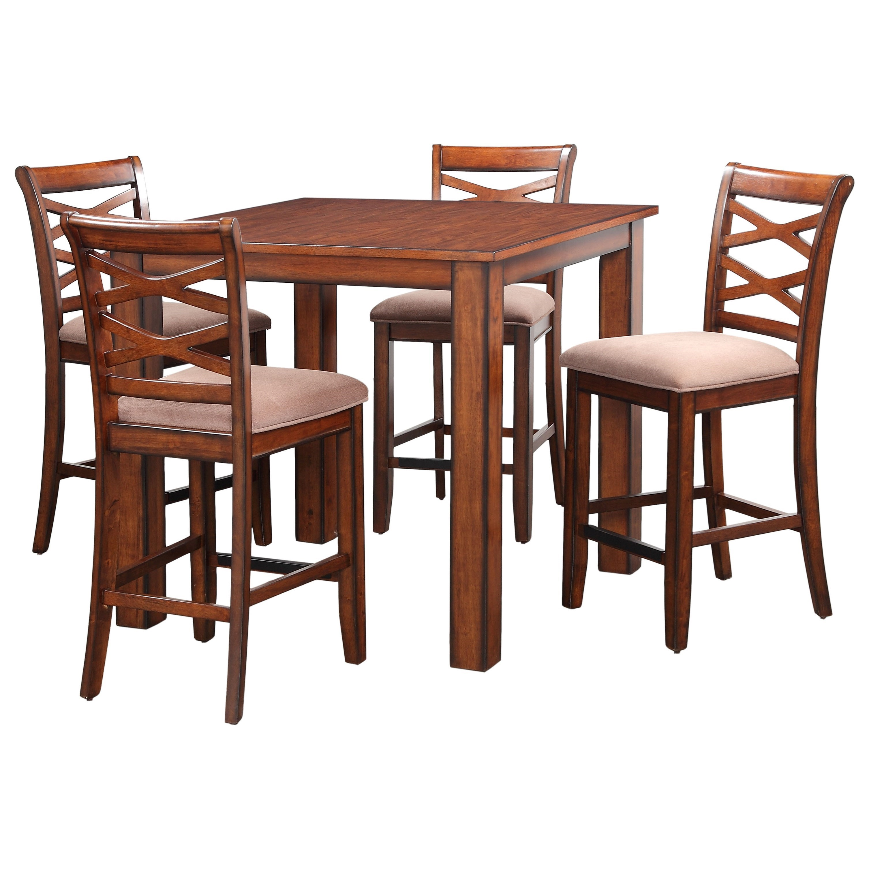 Standard Furniture Redondo Table and Chair Set - Item Number: 11223