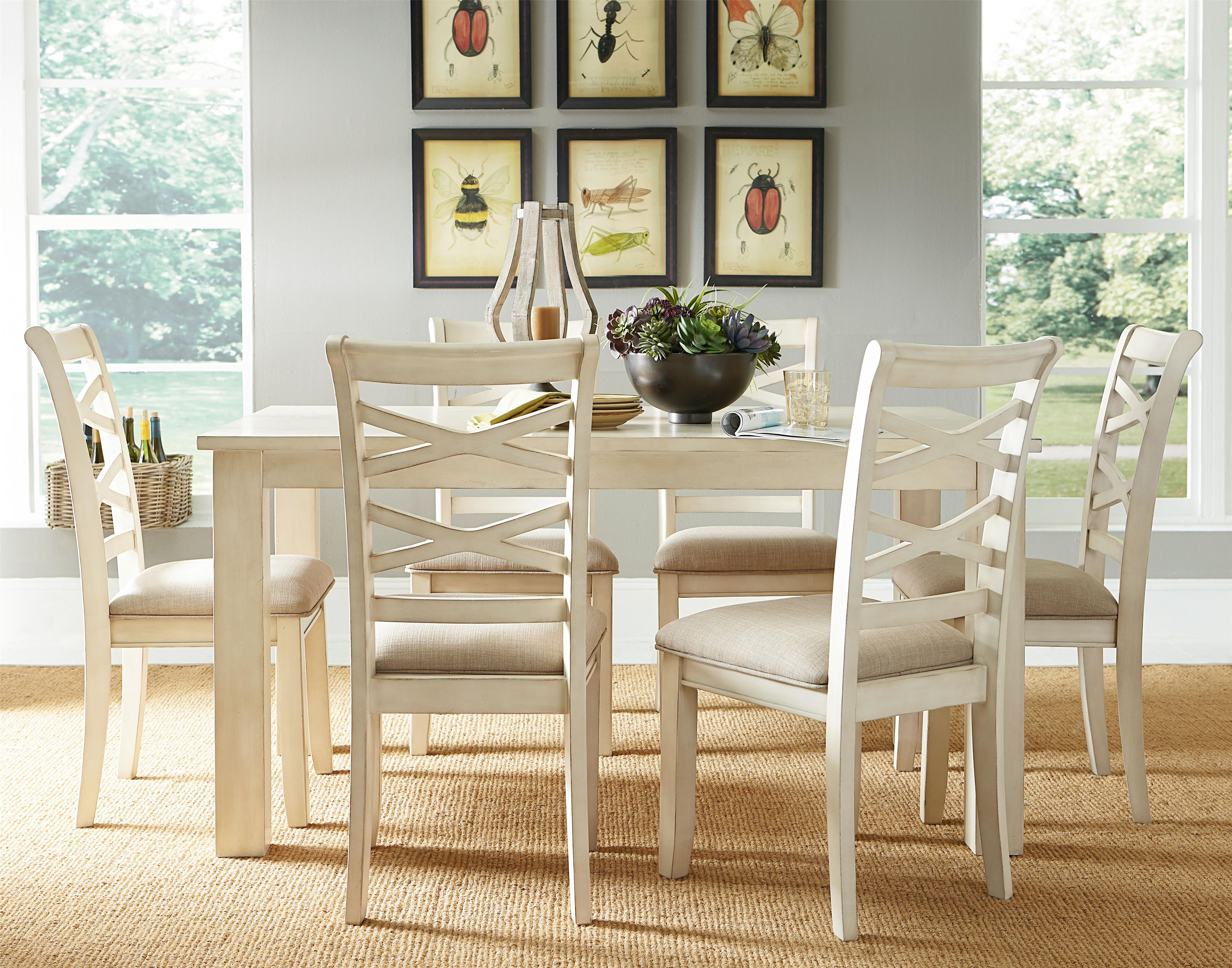 Standard Furniture Redondo Vanilla Casual Dining Room Set - Item Number: 11232