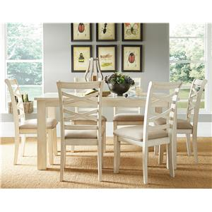 Standard Furniture Redondo Vanilla Casual Dining Room Set