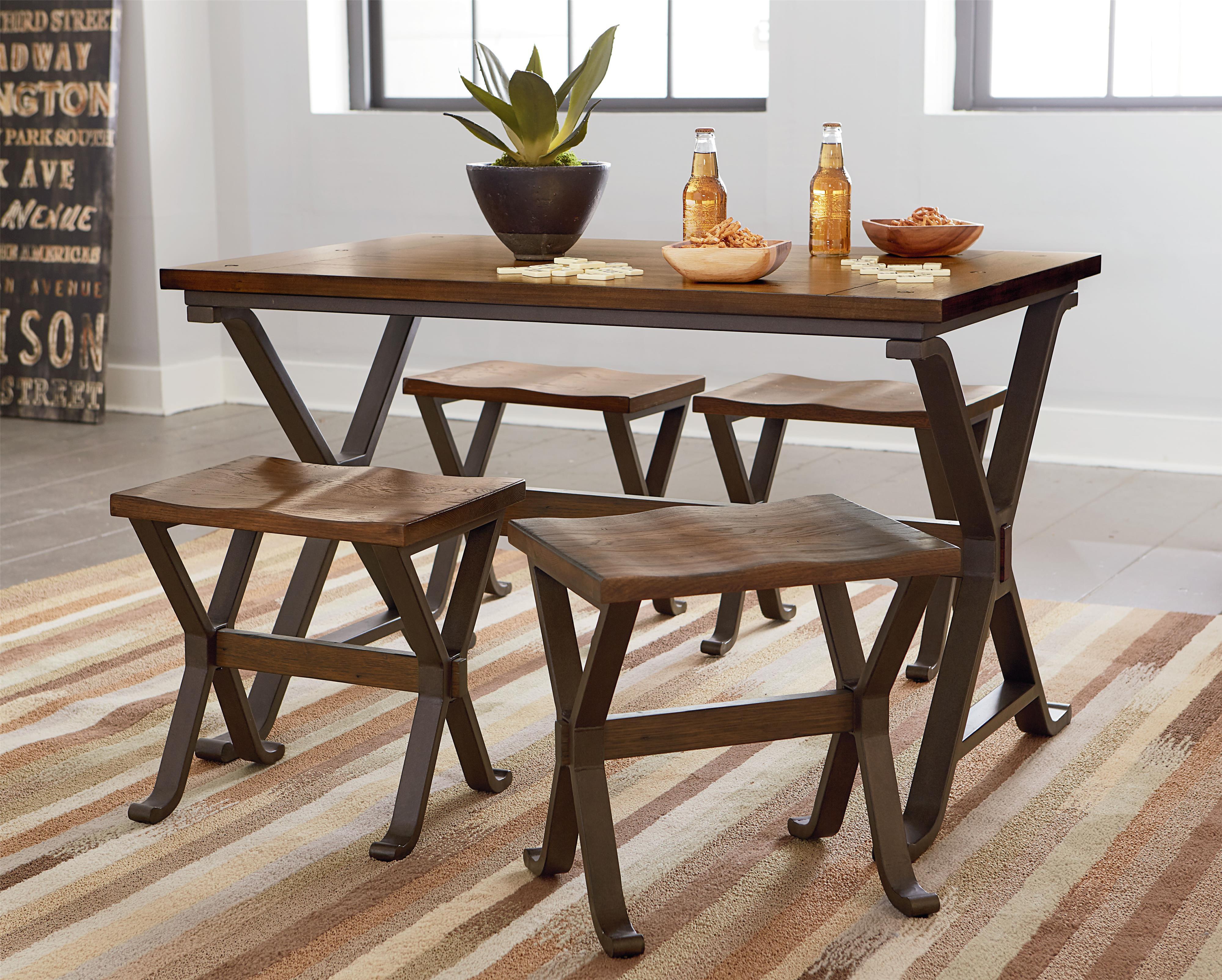 Standard Furniture Reynolds Casual Dining Set - Item Number: 11081+2011081+2x11084
