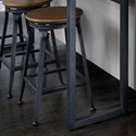Standard Furniture Ridgewood Occasional Swivel Bar Stool - Item Number: 20019