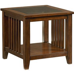 Standard Furniture Rio Dark End Table