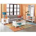 Standard Furniture Rio Lite End Table with Shelf
