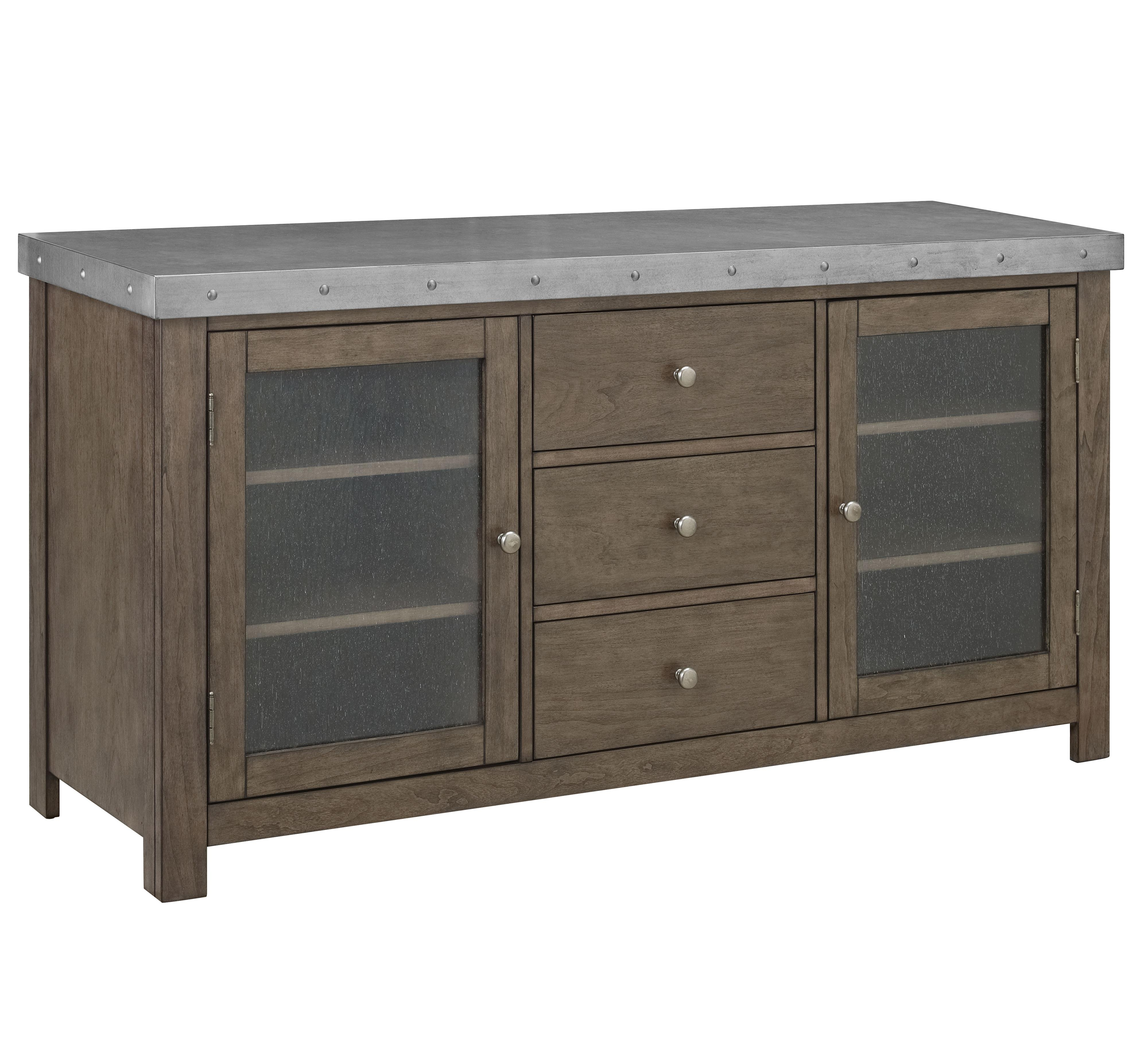 Standard Furniture Riverton Accent Tables Entertainment Console - Item Number: 28588