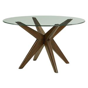 "Standard Furniture Roxbury 48"" Round Glass Table"