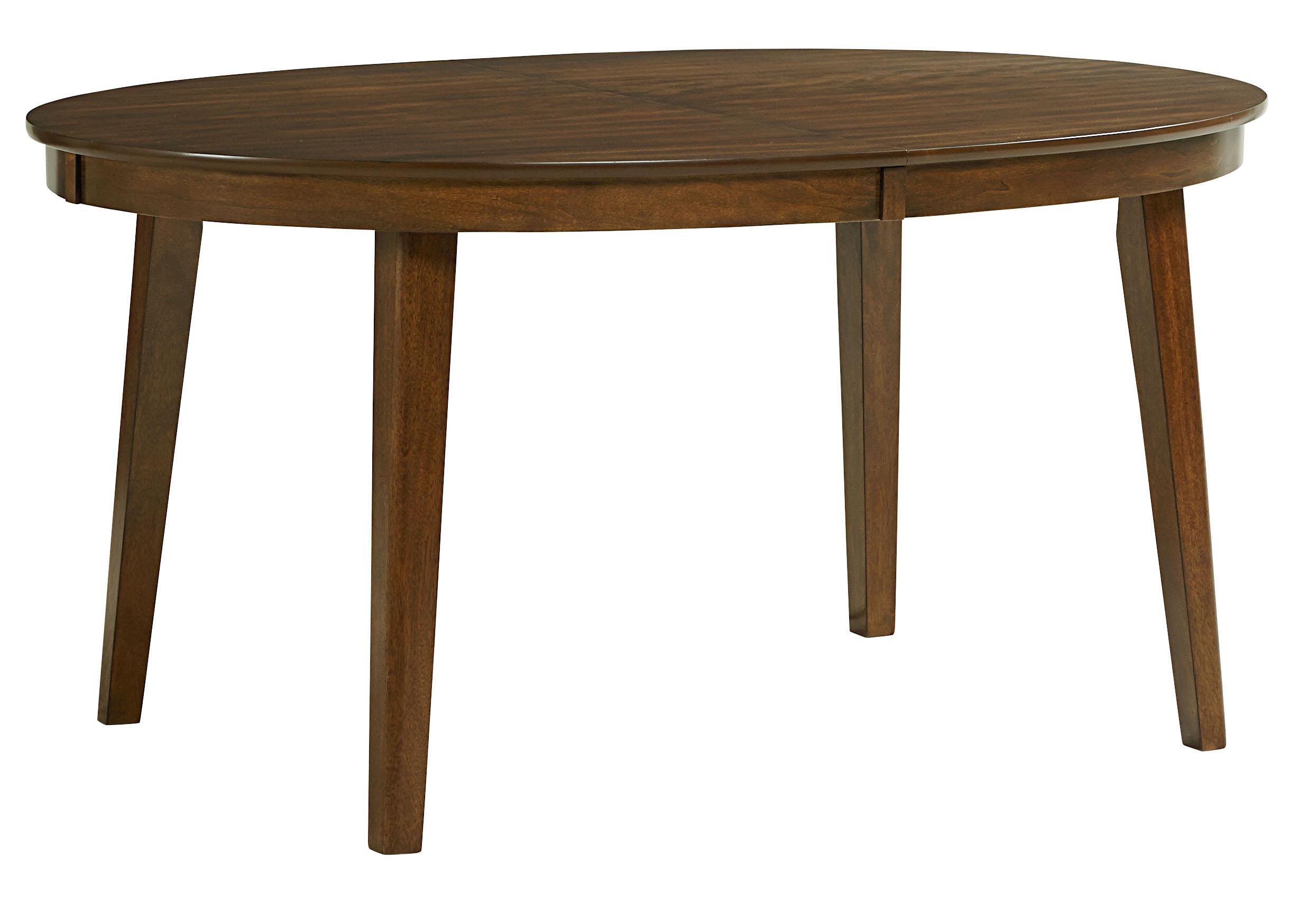 "Standard Furniture Roxbury Oval Table with 18"" Leaf - Item Number: 16201"