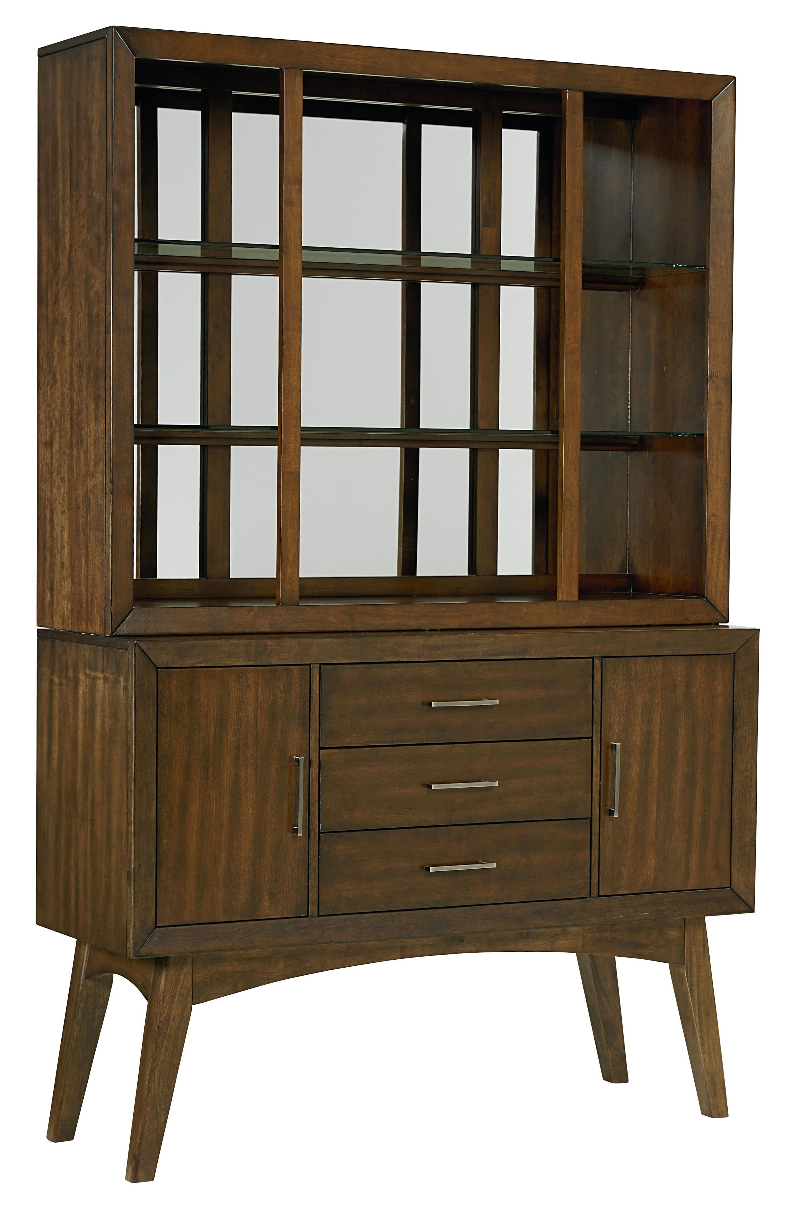 Standard Furniture Roxbury Buffet & Hutch - Item Number: 16208+16209