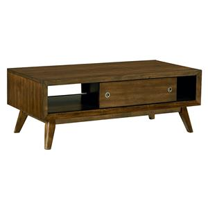 Standard Furniture Roxbury Sliding Door Cocktail Table