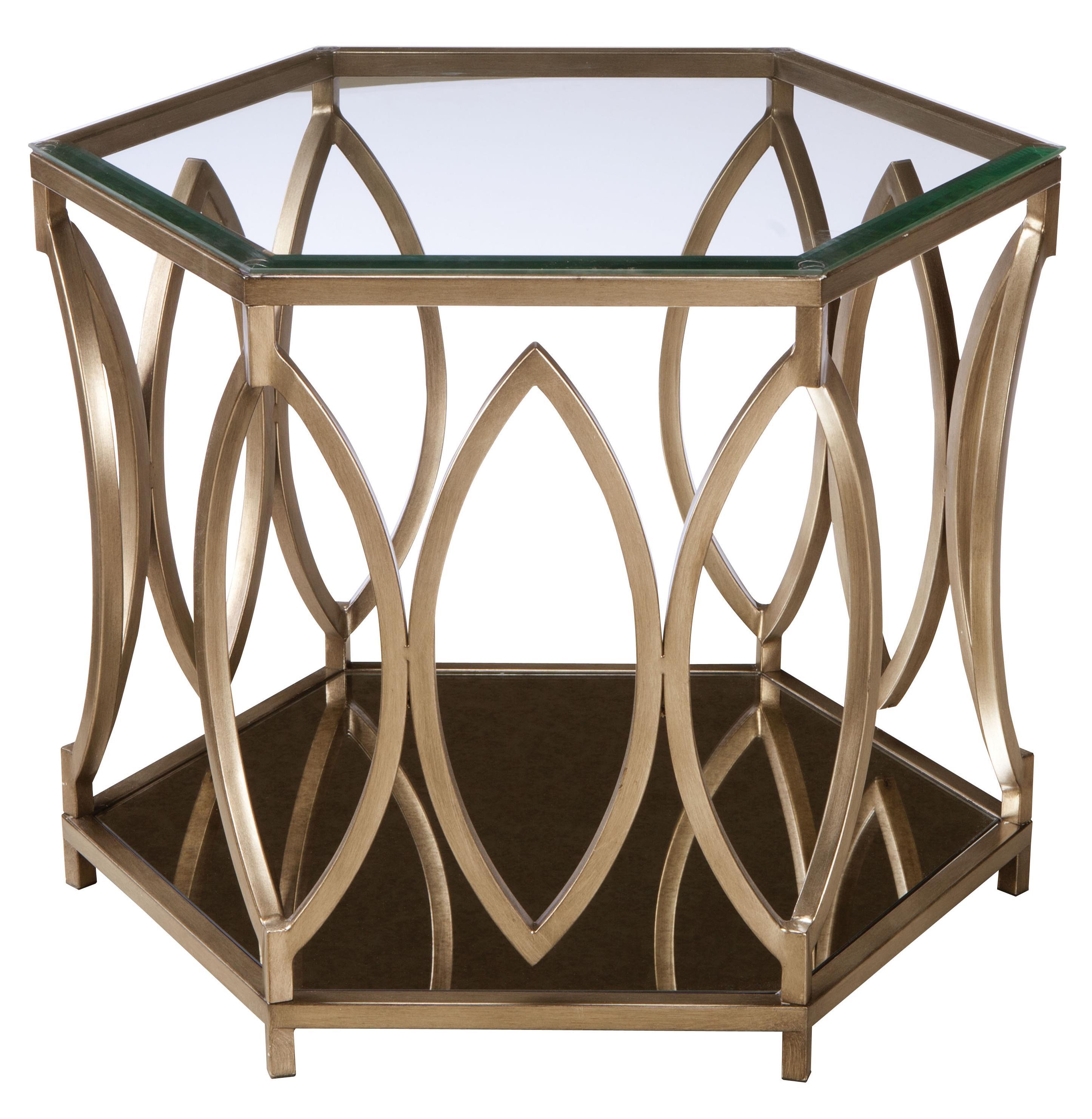 Standard Furniture Santa Barbara  Hexagonal End Table - Item Number: 27912