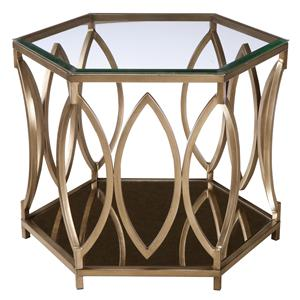 Standard Furniture Santa Barbara  Hexagonal End Table