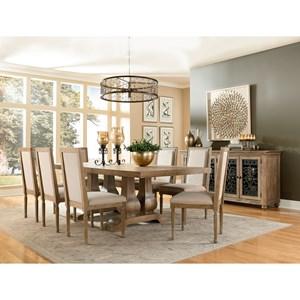 Standard Furniture Savannah Court Rectangular Dining Room Group
