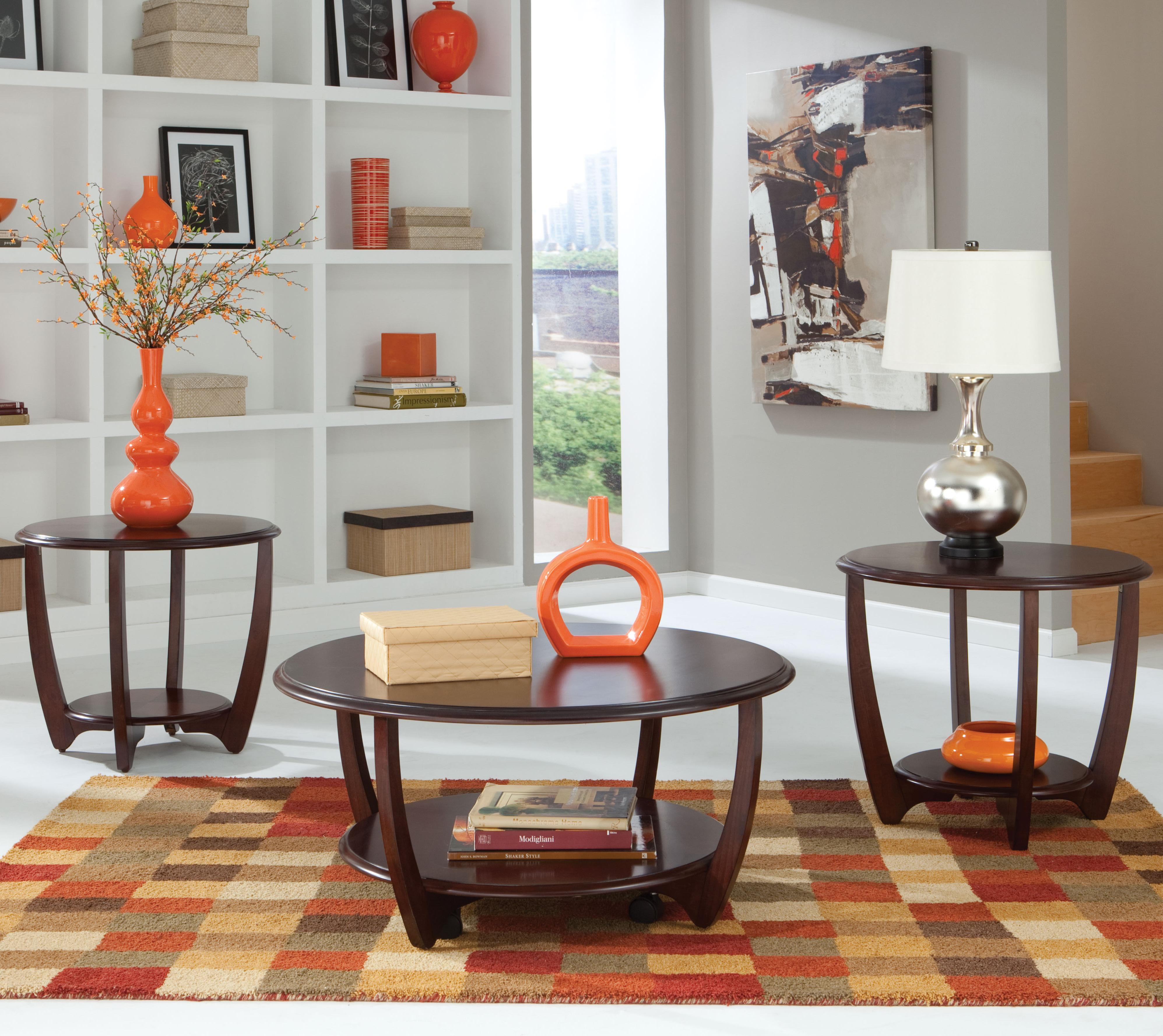Standard Furniture Seattle II 3-Pack Table Set - Item Number: 21693