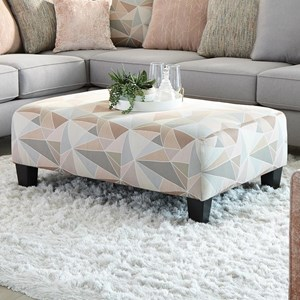 Cocktail Ottoman -Rectangle