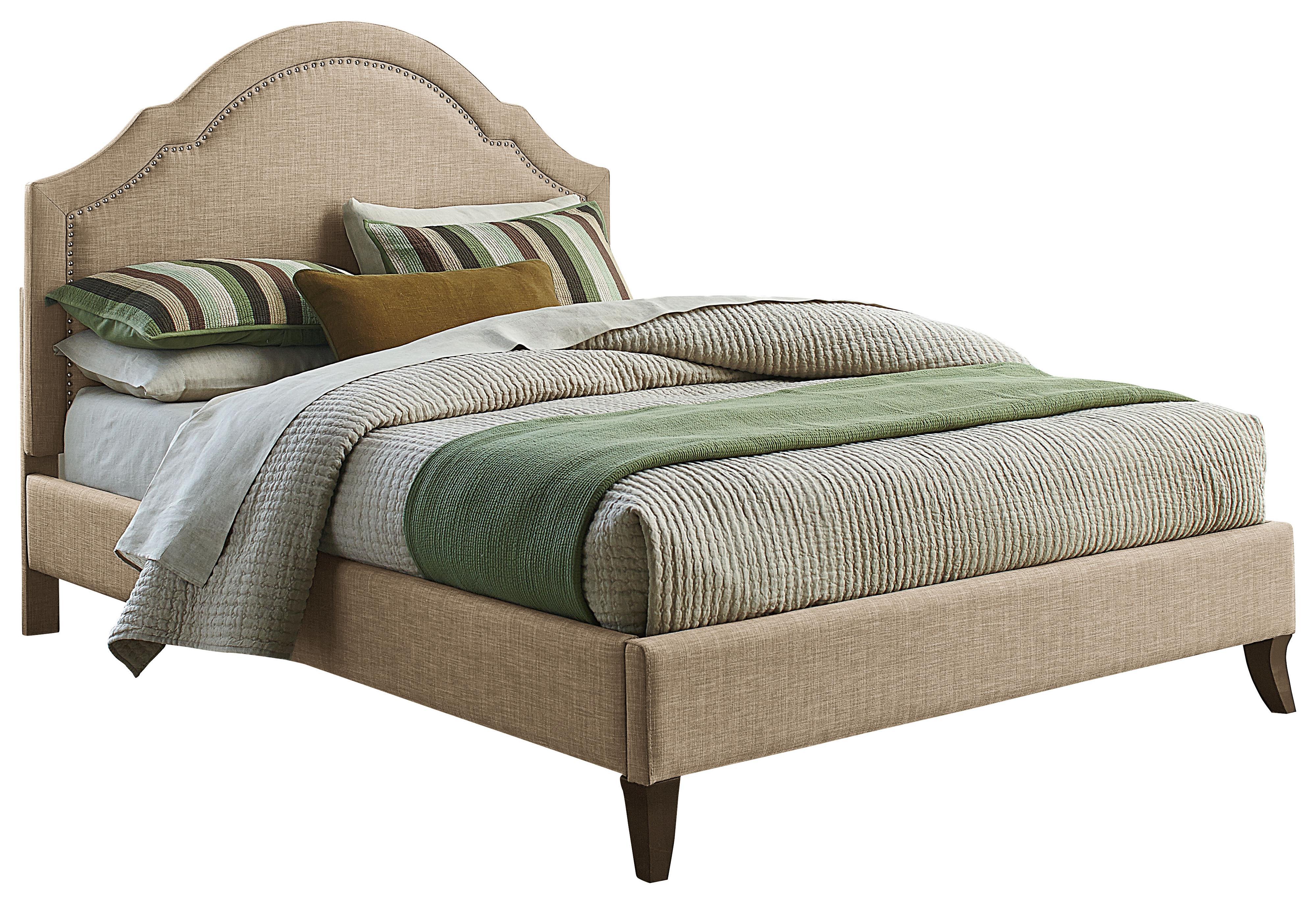 Standard Furniture Simplicity King Upholstered Platform Bed - Item Number: 81666