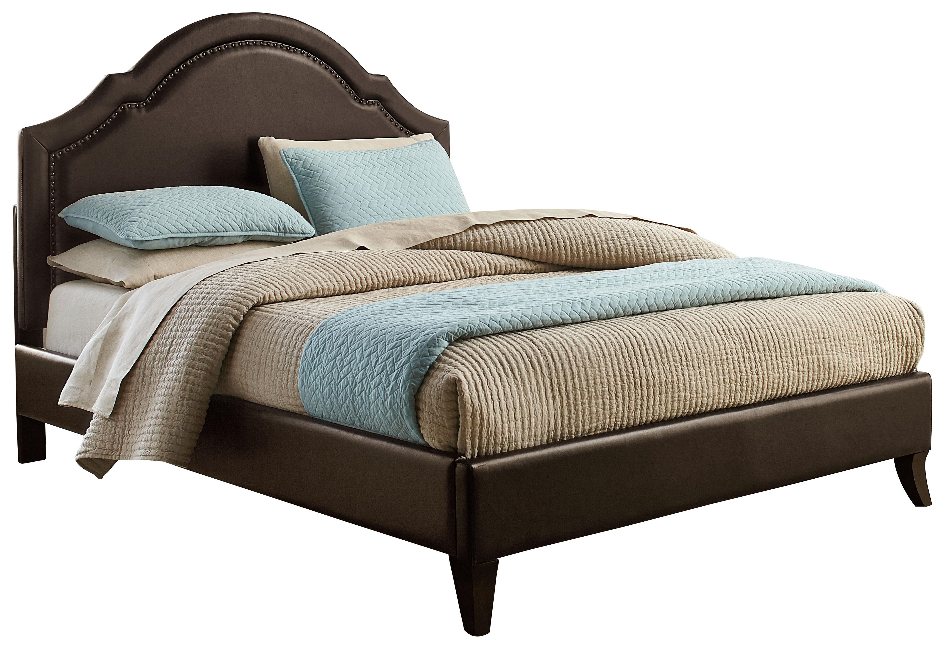 Standard Furniture Simplicity King Upholstered Platform Bed - Item Number: 81668