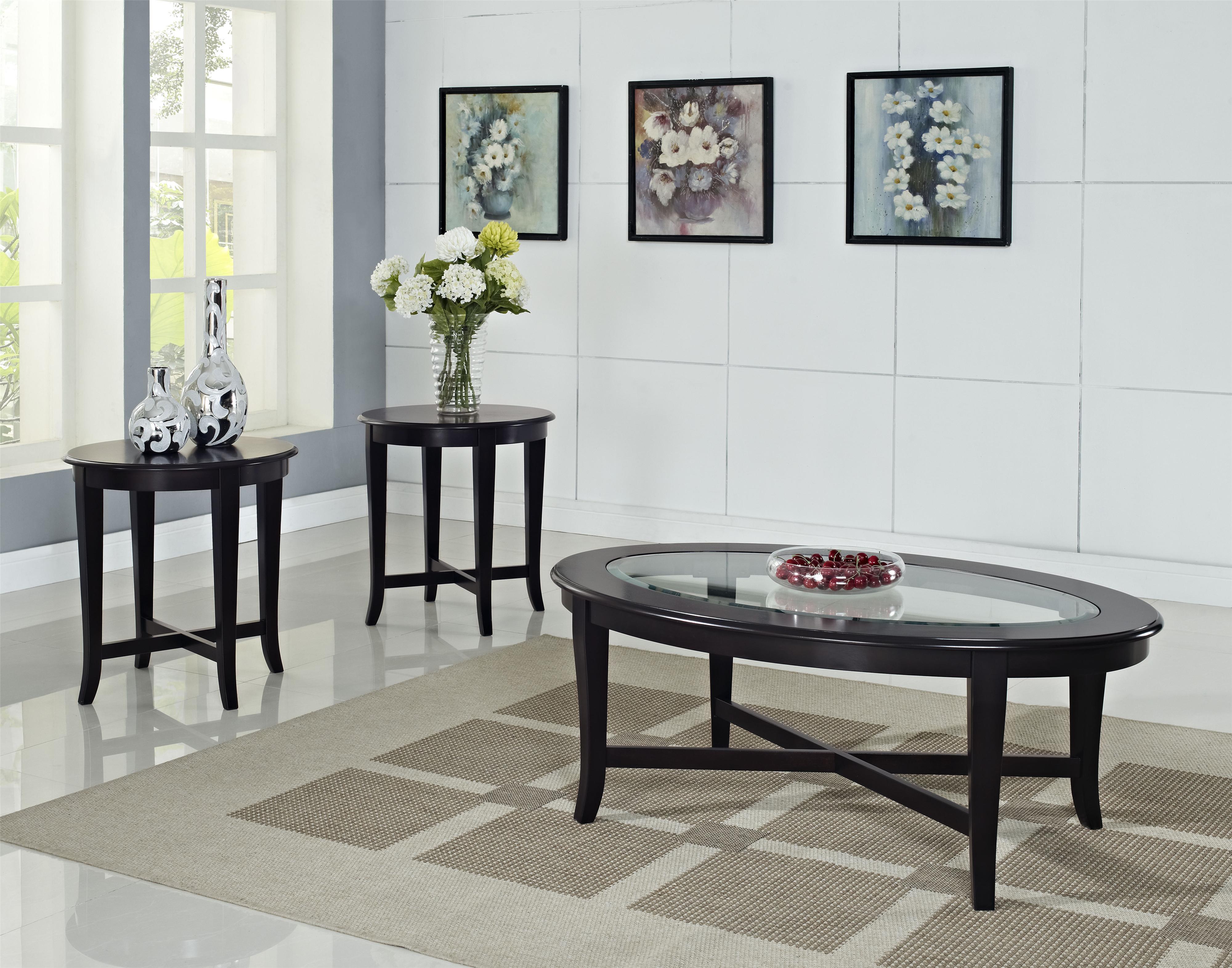 Standard Furniture Sommerset  3 Pack Tables - Item Number: 27033