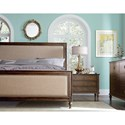 Standard Furniture Sonesta Upholstered California King Bed with Nailhead Trim