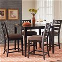 Standard Furniture Sparkle 5-Piece Gathering Table Set - Item Number: 13176
