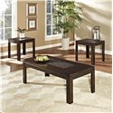 Standard Furniture Sparkle 3 Piece Occasional Table Set - Item Number: 28183