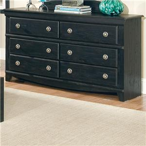 Standard Furniture Carlsbad 6 Drawer Dresser
