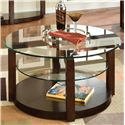 Standard Furniture Coronado Round Cocktail Table - Item Number: 24601