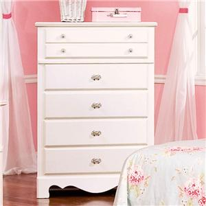VFM Signature Spring Rose 5 Drawer Chest
