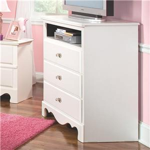 Standard Furniture Spring Rose TV Chest