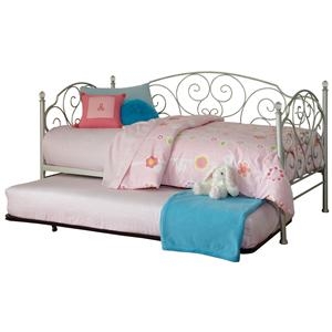 Standard Furniture Spring Rose Daybed with Trundle