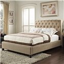 Standard Furniture Stanton Upholstered Queen Bed - Item Number: 88202