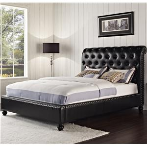 Standard Furniture Stanton Upholstered Queen Bed