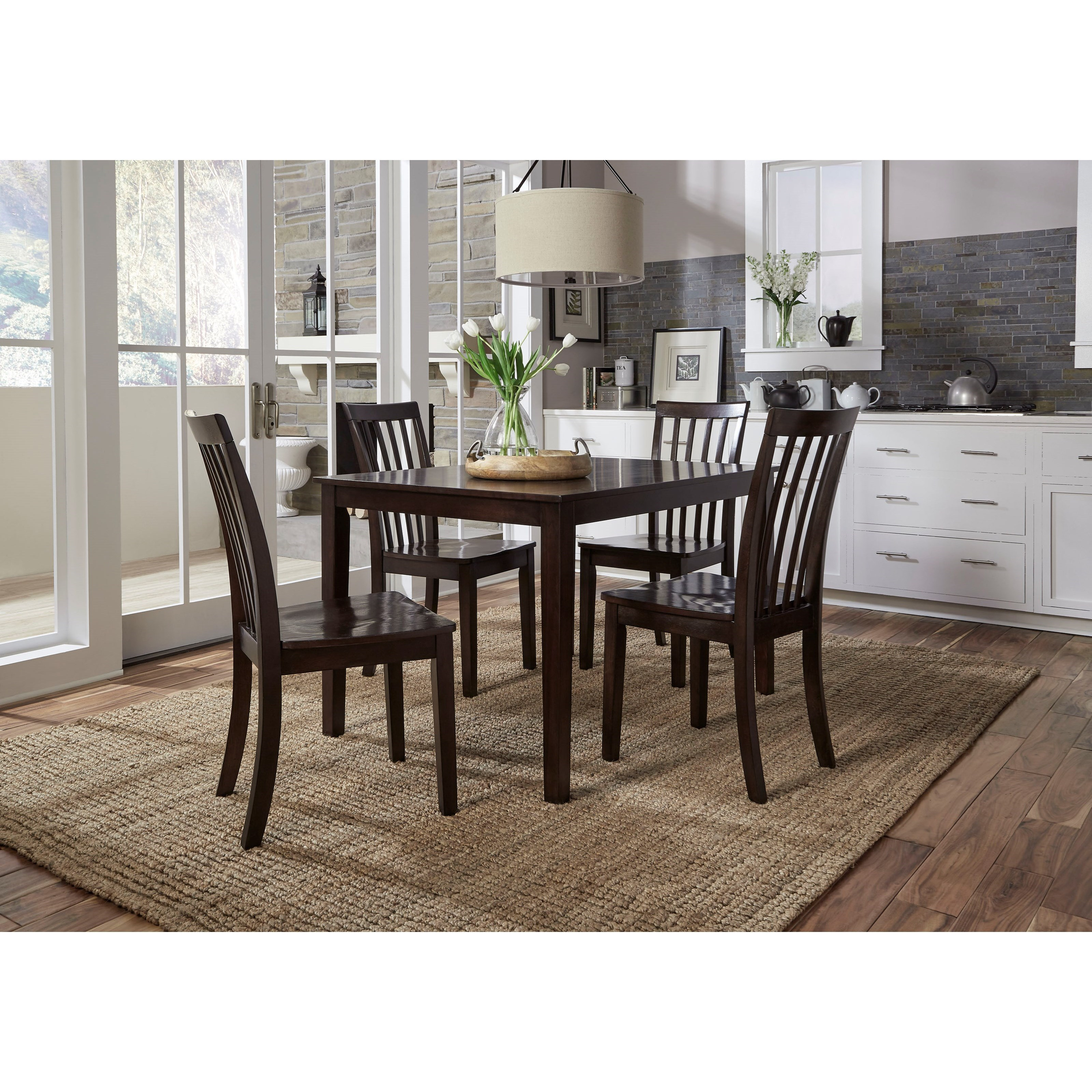 Casual Dining Tables And Chairs: Standard Furniture Stanton Casual Dining Table With Four