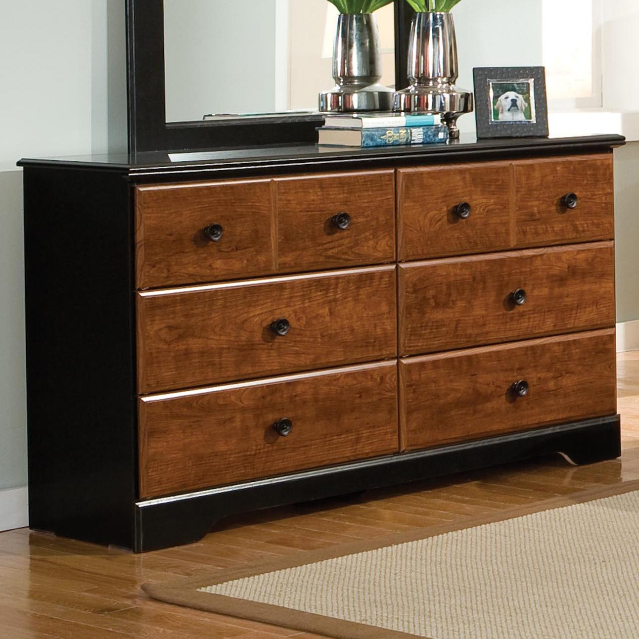 Standard Furniture Steelwood 6 Drawer Dresser - Item Number: 61259