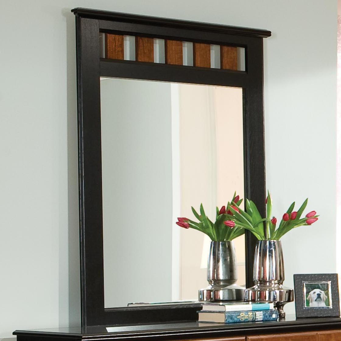 Standard Furniture Steelwood Dresser Mirror - Item Number: 61268