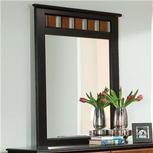 Standard Furniture Steelwood Dresser Mirror