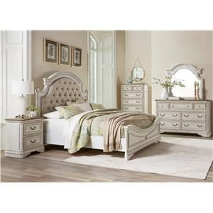 Standard Furniture Stevenson Manor Queen 5 Piece Bedroom Group