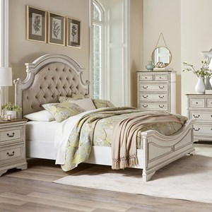 Standard Furniture Stately Queen Headboard and Footboard Bed