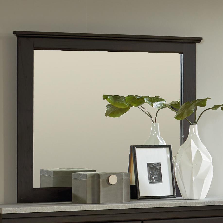 Standard Furniture Stonehill Dark Mirror                           - Item Number: 69368