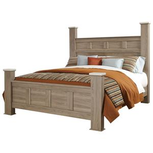 Vendor 855 Stonehill Queen Poster Bed